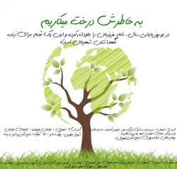 به خاطرش درخت میکاریم