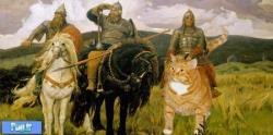 اگر گربه ها در قالب هنر بودند